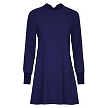 Buy Louche Benecia Long Sleeved Dress, Navy Online at johnlewis.com