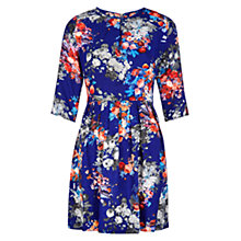 Buy Louche Gena Dress, Blue Online at johnlewis.com