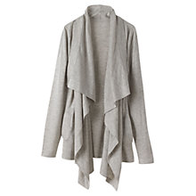 Buy Winser Waterfall Cardigan, Beige Melange Online at johnlewis.com