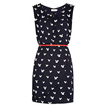 Buy Louche Dreamy Spot Dress, Navy/Cream Online at johnlewis.com