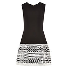Buy Louche Kendall Dress, Black Online at johnlewis.com
