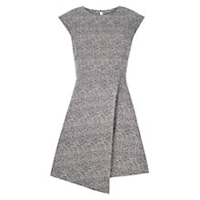 Buy Louche Elyse Textured Dress, Black/White Online at johnlewis.com