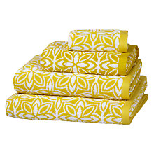 Buy John Lewis Fusion Flower Towels Online at johnlewis.com