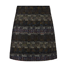 Buy Jigsaw Multi Jewel Tweed Mini Skirt, Multi Online at johnlewis.com
