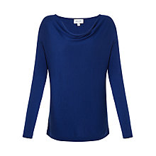 Buy Jigsaw Luxury Blend Jumper, Airforce Blue Online at johnlewis.com