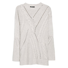 Buy Mango Wool Blend Sweatshirt Online at johnlewis.com
