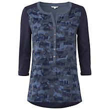 Buy White Stuff Display Printed Shirt, Navy Online at johnlewis.com