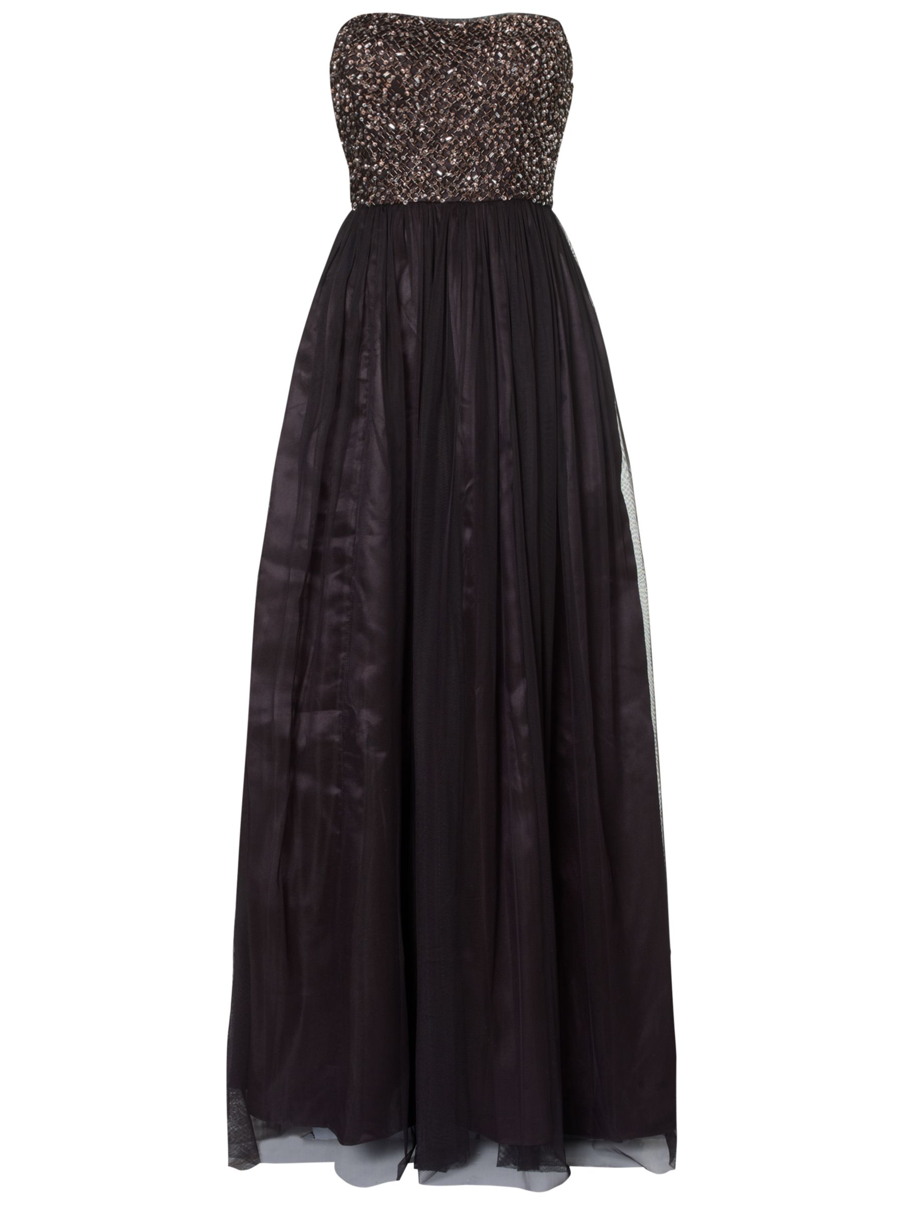aidan mattox strapless evening dress black/bronze, aidan, mattox, strapless, evening, dress, black/bronze, aidan mattox, 6|14|8|16|10|12, women, eveningwear, nov 14 - laid-back luxe, womens dresses, edition magazine, one enchanted evening, party outfits, evening gowns, special offers, womenswear offers, womens dresses offers, embellishment, 1711371
