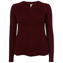 Buy White Stuff Racing Jumper, Plum Brand Online at johnlewis.com