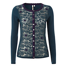 Buy White Stuff Melanitta Cardigan, Hummingbird Online at johnlewis.com