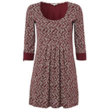 Buy White Stuff Beyond The Hill Tunic Top, Plum Brand Online at johnlewis.com