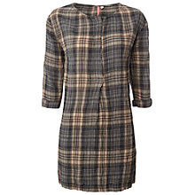 Buy White Stuff Check In Tunic Top, Steam Soot Online at johnlewis.com