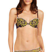 Buy Elle Macpherson Intimates Monsoon Nights Contour Bra, Nightshade / Warm Olive Online at johnlewis.com