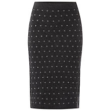 Buy White Stuff Knit Spot Skirt, Salt Online at johnlewis.com