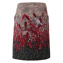 Buy White Stuff Rivet A-Line Skirt, Dark Salt Online at johnlewis.com