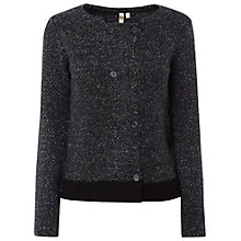 Buy White Stuff Hop Knit Jacket, Grey/White Online at johnlewis.com