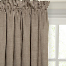 Buy John Lewis Barathea Lined Pencil Pleat Curtains Online at johnlewis.com