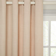 Buy John Lewis Barathea Lined Eyelet Curtains Online at johnlewis.com
