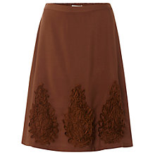 Buy White Stuff Moonstone A-Line Skirt, Squirrel Online at johnlewis.com