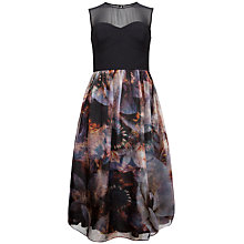 Buy Ted Baker Karmyn Blooms Of Enchantment Silk Dress, Multi Online at johnlewis.com