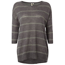 Buy White Stuff Stoat Tunic, Grey Online at johnlewis.com