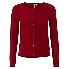 Buy White Stuff Master Cardigan, Russian Red Online at johnlewis.com