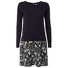 Buy White Stuff Barn Master Dress, Navy/Cream Online at johnlewis.com