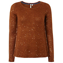 Buy White Stuff Shimmer Jumper, Squirrel Online at johnlewis.com