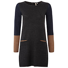 Buy White Stuff Barnie Tunic, Grey/Brown Online at johnlewis.com