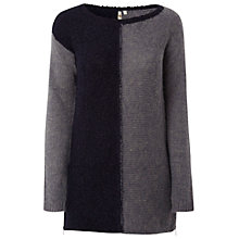 Buy White Stuff Tundra Jumper, Navy Online at johnlewis.com