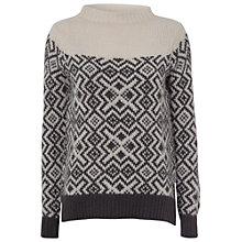Buy White Stuff Salt And Pepper Jumper, Cream/Grey Online at johnlewis.com