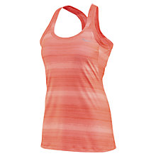 Buy Saucony Running Vest Top, Pink Online at johnlewis.com