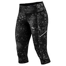 Buy Saucony Bullet Capri Running Tights, Carbon Print Online at johnlewis.com