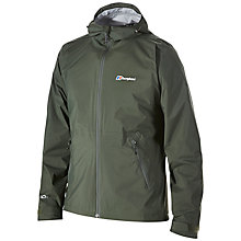 Buy Berghaus Stormcloud Waterproof Jacket, Khaki Online at johnlewis.com