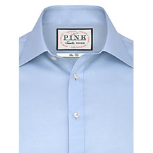 Buy Thomas Pink Robin Plain Slim Fit Shirt Online at johnlewis.com