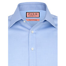 Buy Thomas Pink Devonshire Texture Shirt, Pale Blue Online at johnlewis.com