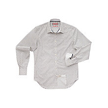 Buy Thomas Pink Restelle Print Shirt, White/Blue Online at johnlewis.com