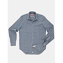 Buy Thomas Pink Waterloo Texture Shirt, Navy/White Online at johnlewis.com