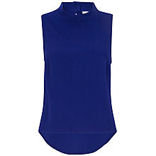 Buy Closet High Collar Sleeveless Top Online at johnlewis.com
