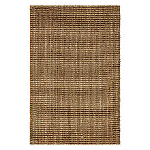 Buy John Lewis Whitby Basketweave Mat, Silver Online at johnlewis.com