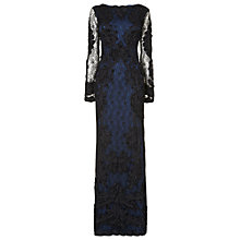 Buy Phase Eight Collection 8 Irina Tapework Floral Dress, Blue Multi Online at johnlewis.com