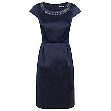 Buy Precis Petite Embellished Dress, Midnight Online at johnlewis.com