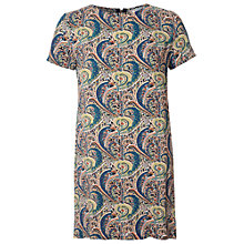 Buy True Decadence Tunic Tee Dress, Green / Brown Online at johnlewis.com