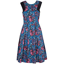Buy Closet Palm Print Dress, Multi Online at johnlewis.com