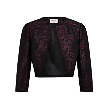 Buy Precis Petite Bolero, Berry/Black Online at johnlewis.com