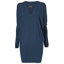Buy Phase Eight Briana Blouson Tunic Jumper Dress, Navy Marl Online at johnlewis.com