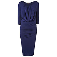 Buy Phase Eight Beverly Blouson Jersey Dress, Navy Online at johnlewis.com