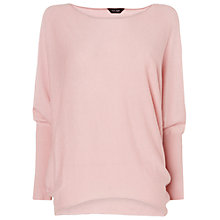 Buy Phase Eight Becca Long Sleeve Batwing Jumper, Pink Online at johnlewis.com