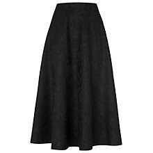 Buy Phase Eight Bonded Lace Skirt, Black Online at johnlewis.com
