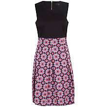 Buy Closet Mosaic Print Panel Dress, Multi Online at johnlewis.com